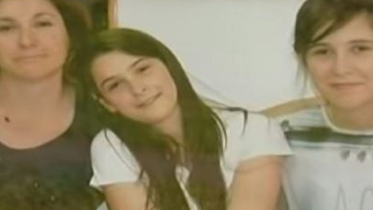 Vesna Milosevich and her twin daughters, Suzana and Tanja, 18, were found starved to death in their locked flat in Vienna, authorities say. Picture: Supplied