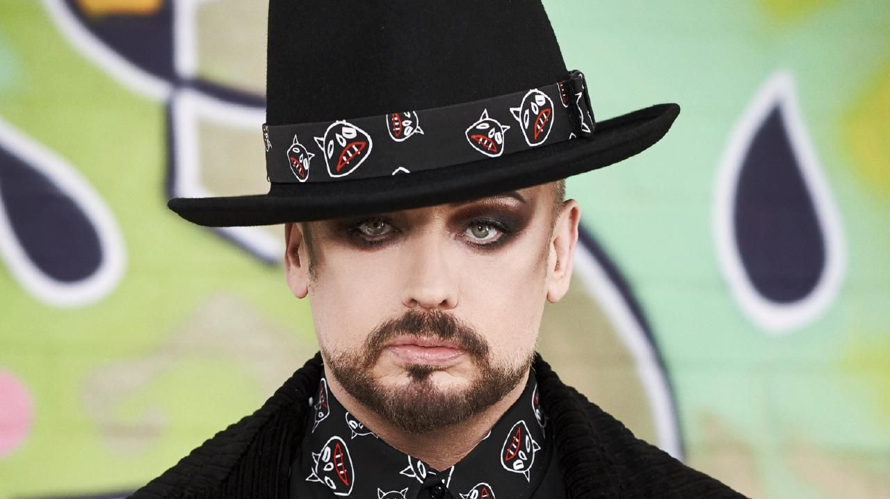 Singer Boy George.