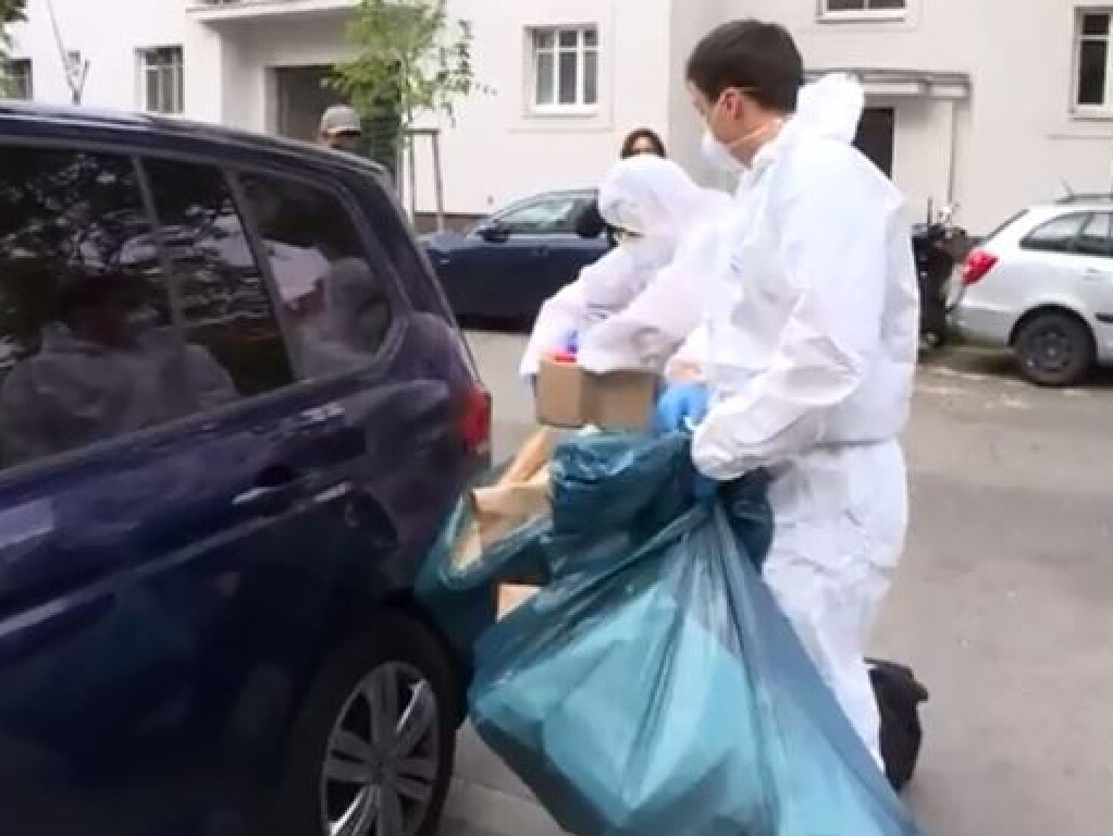 Police remove bags of evidence from the home of Vesna Milosevich and her daughters after their decomposed bodies were found in a bedroom on May 21. Picture: Supplied