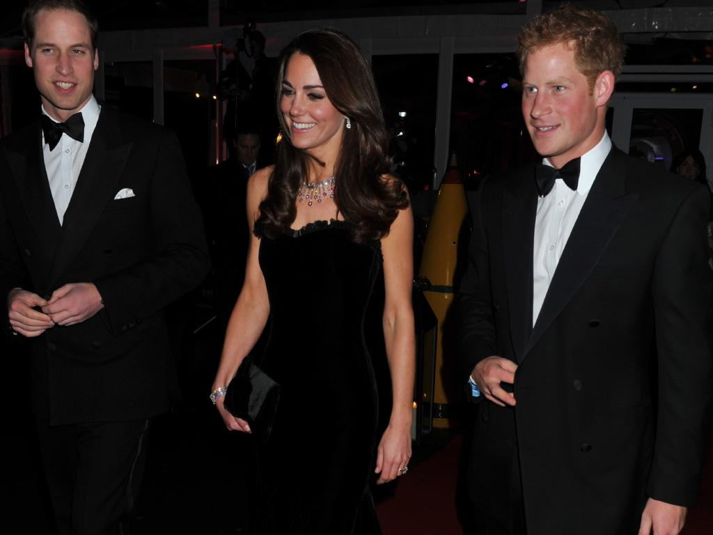When Kate joined the royal family, Harry become a very charming third wheel. Picture: John Stillwell- WPA Pool/Getty Images