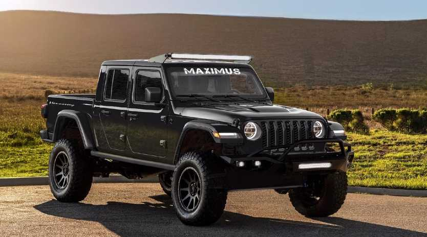 The Jeep Gladiator-based Hennessey Maximus packs a supercharged V8 engine.