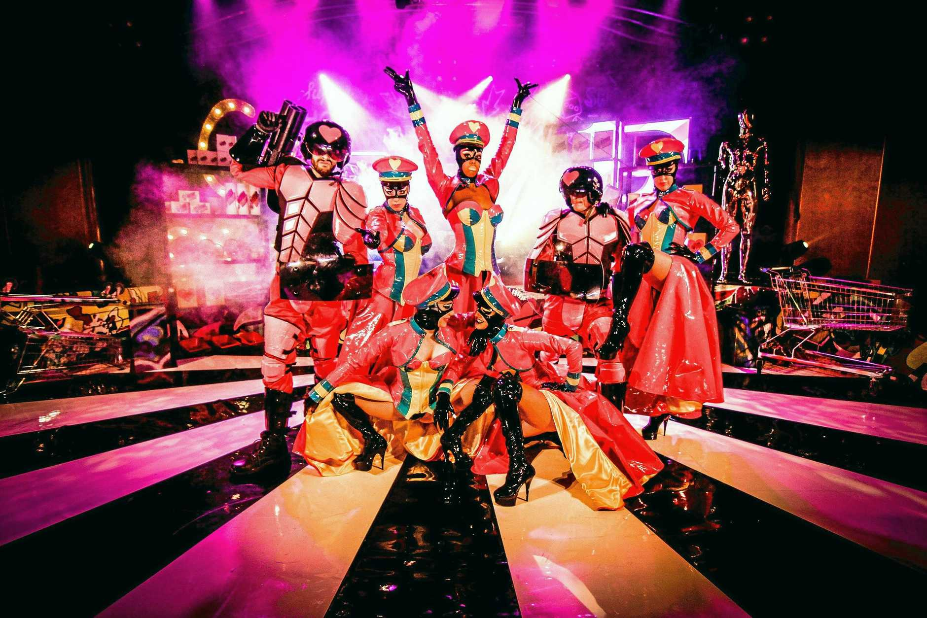 PACIFIC EXPLORER: The Love Riot cabaret isn't for the faint hearted. It was explosive, energetic and very adults-only.