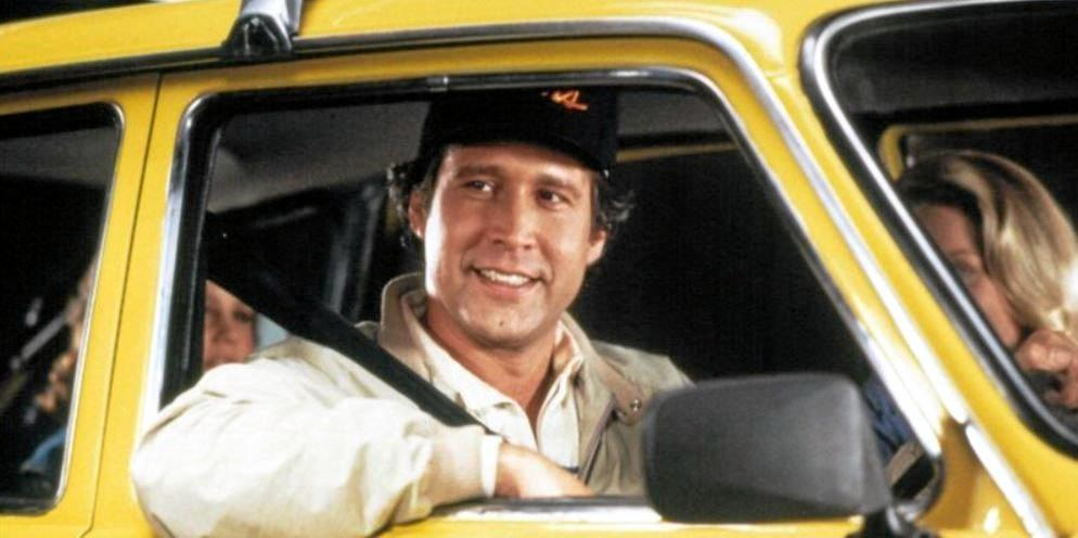 CHEVY MOMENTS: Chevy Chase character Clark W Griswold from the National Lampoon movies.
