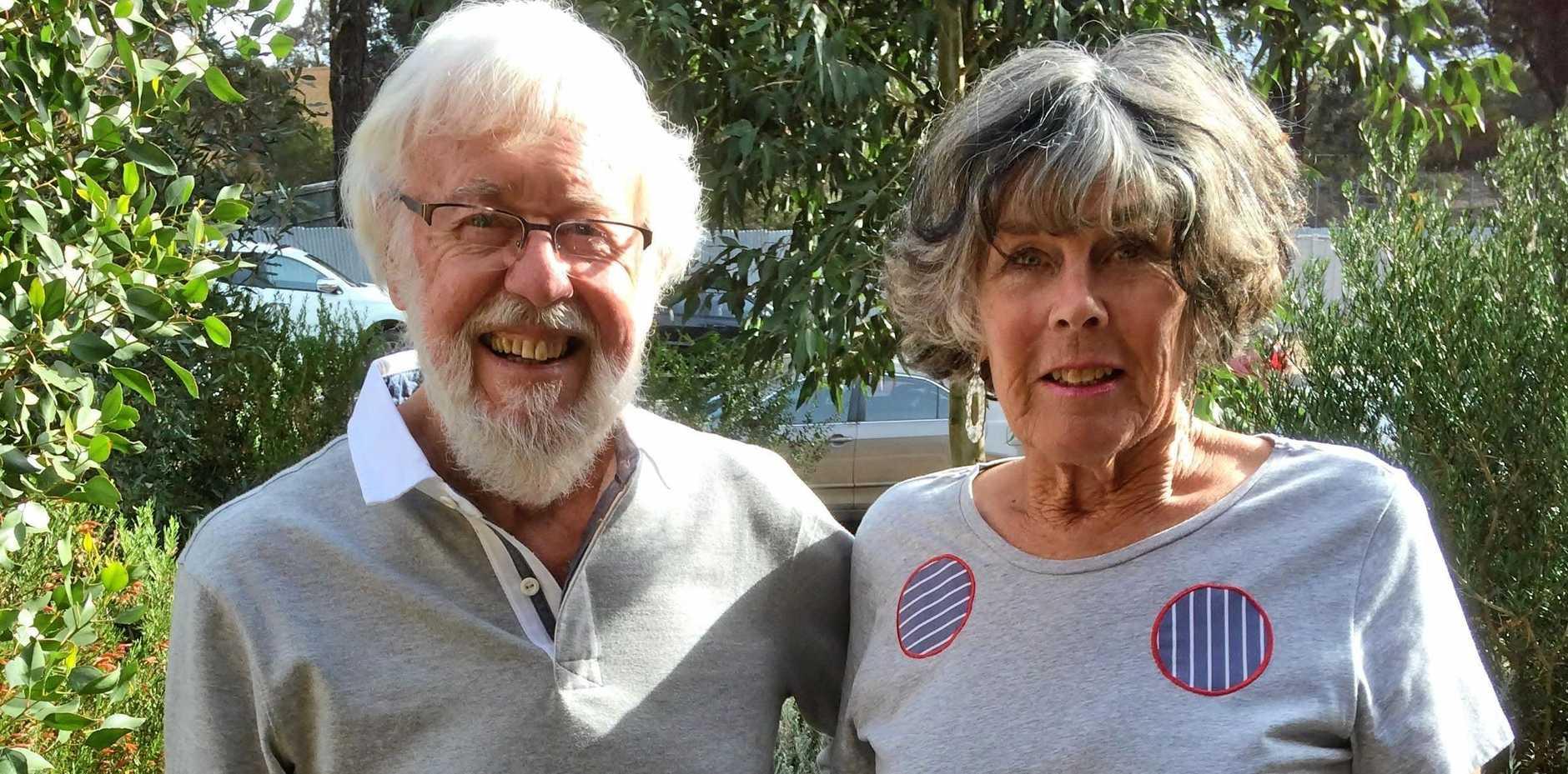 NAVIGATING THROUGH CANCER: Neil and Jan Maling.