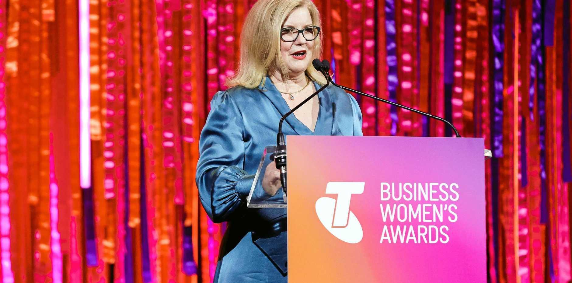 CONGRATULATIONS: Telstra Australian Business Women's Award 2019 winner, NewDirection Care's founder and CEO Natasha Chadwick.