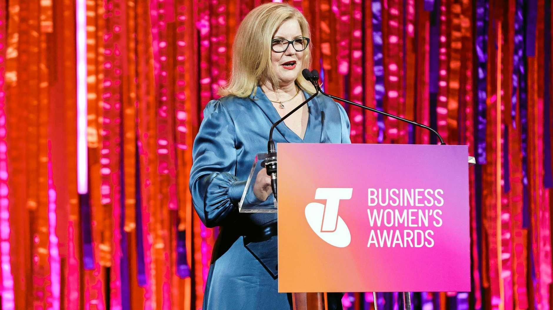 CONGRATULATIONS: Telstra Australian Business Women's Award 2019 winner, NewDirection Care's founder and CEO Natasha Chadwick.