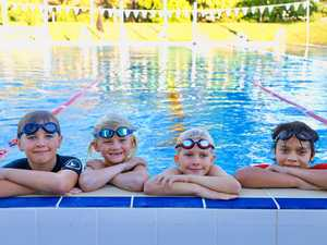 Water bugs return to their 25m pool for learn to swim lesson