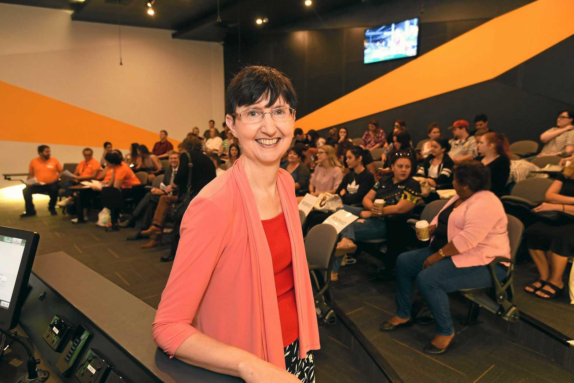 Gympie USC open day Joanne Scott.