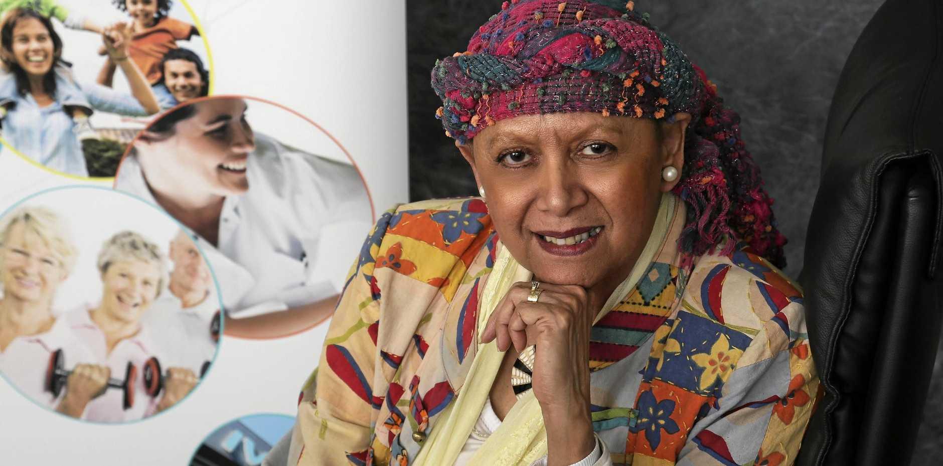 VISION: Aunty Cheri Yavu-Kama-Harathunian has spoken about the pathway forward for reconcilation.