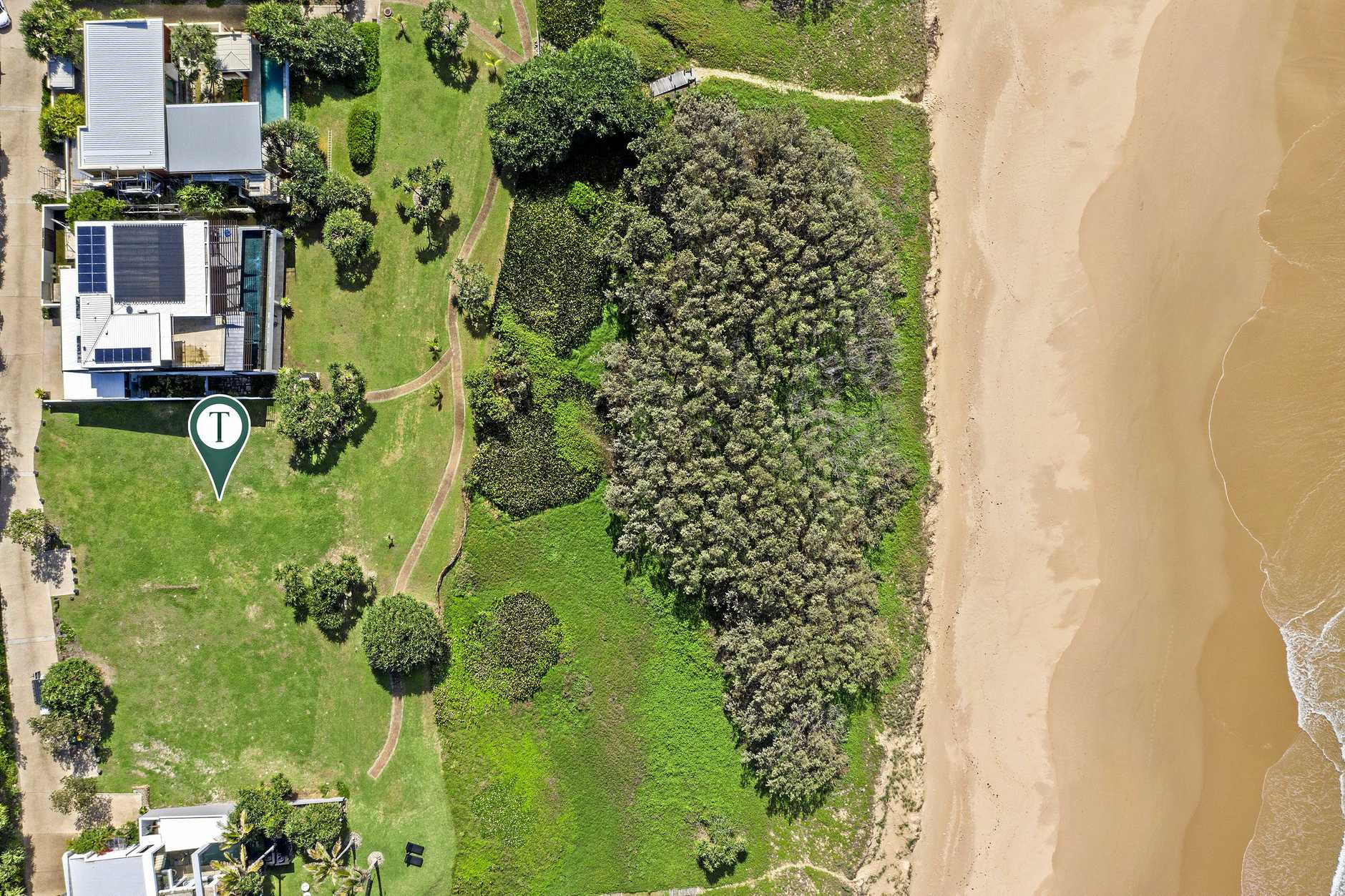 The second last remaining land package on a coveted Sunrise Beach estate is on the market for a cool $5.25 million.
