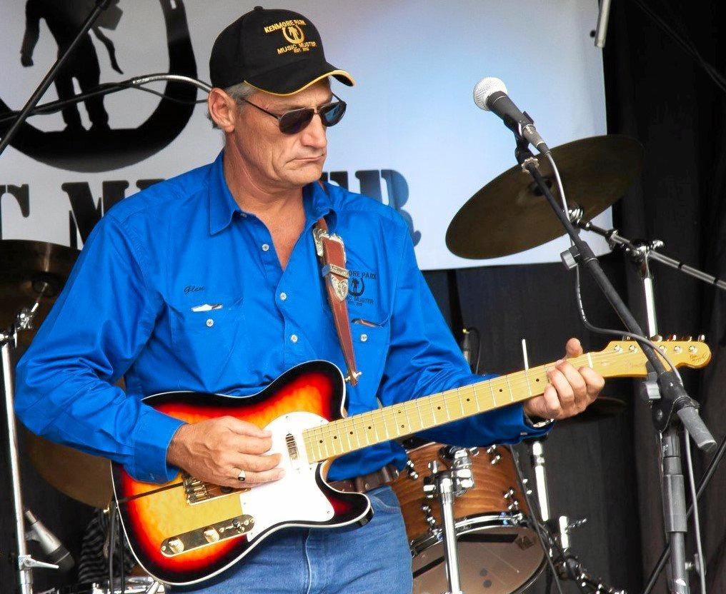 WELL TUNED: Country music veteran Glen Albrecht headlines at the Kenmore Park Music Muster next week.