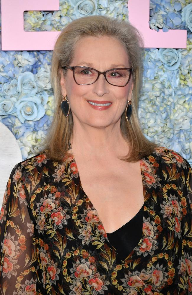 Meryl Streep says labels are 'less helpful' when discussing relationships. Picture: Getty Images