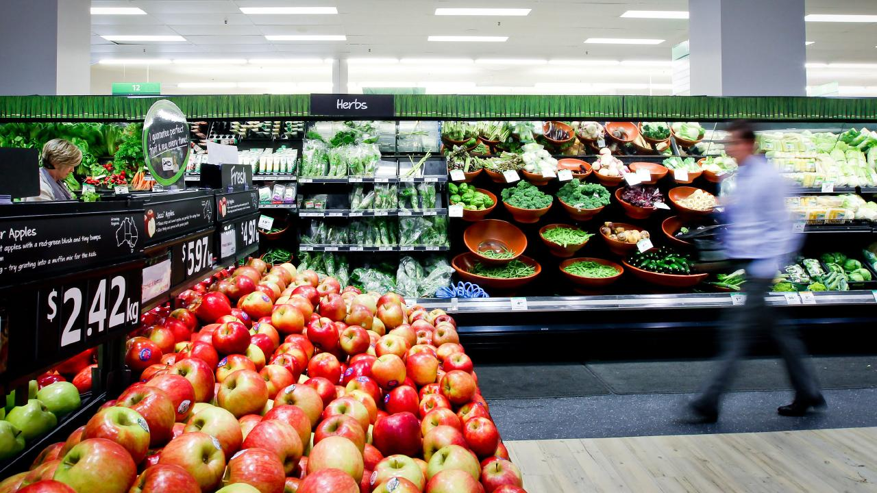 Woolworths has reduced promotion in the last two years by 17 per cent. Picture: Ian Waldie