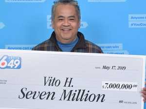 $7.4m lotto winner's insane decision