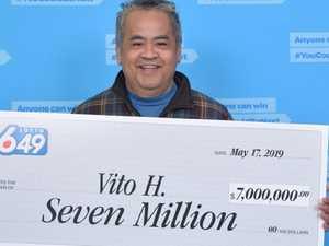$7.4m lotto winner's insane decision