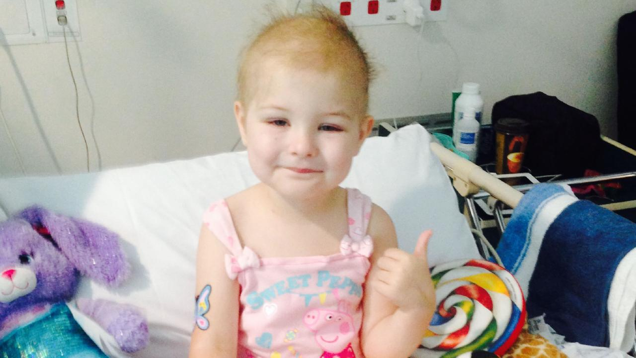 Isla suffered horrific side effects during treatment for cancer.