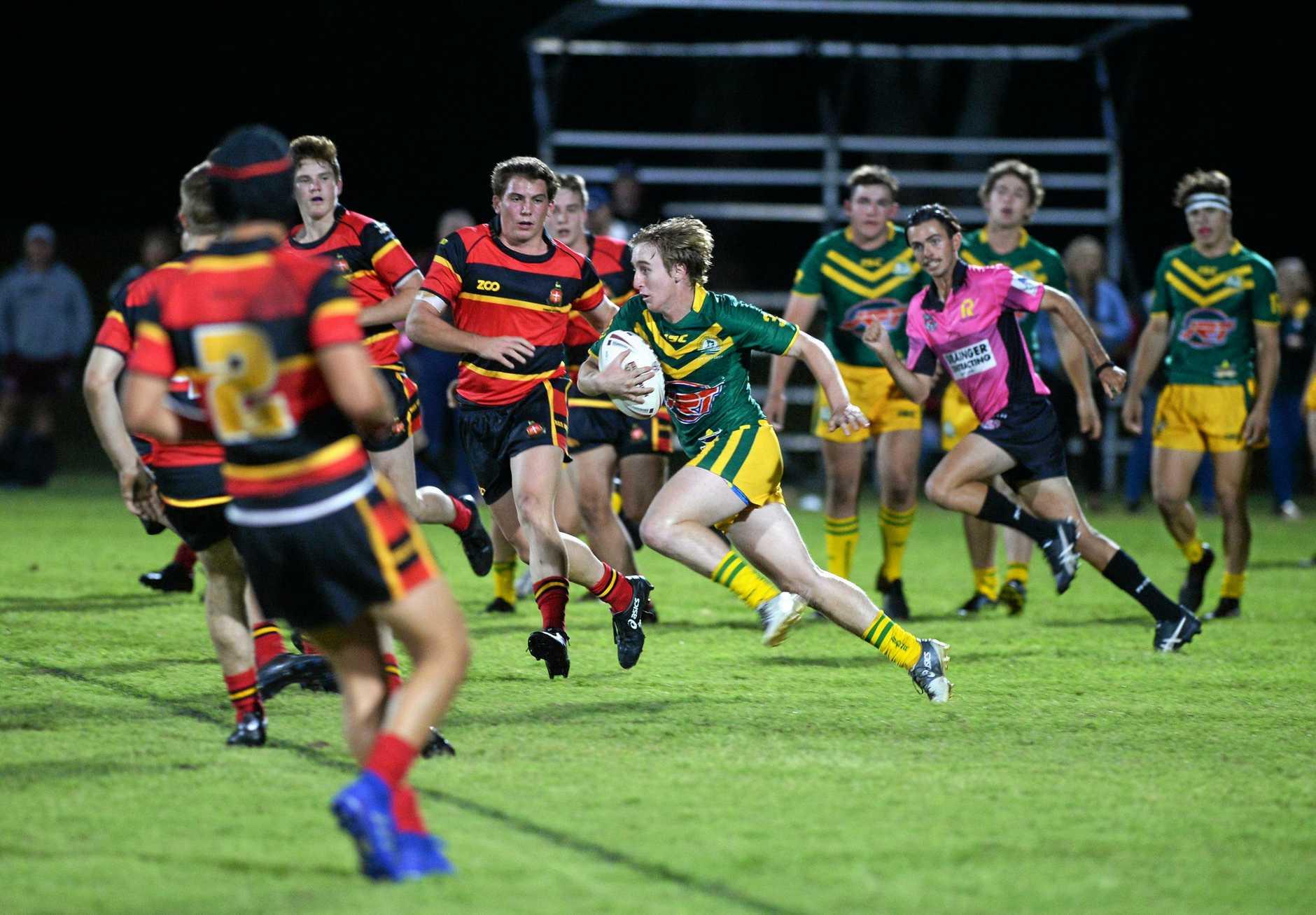 Rugby league: St Brendan's Mitchell Biddulph.