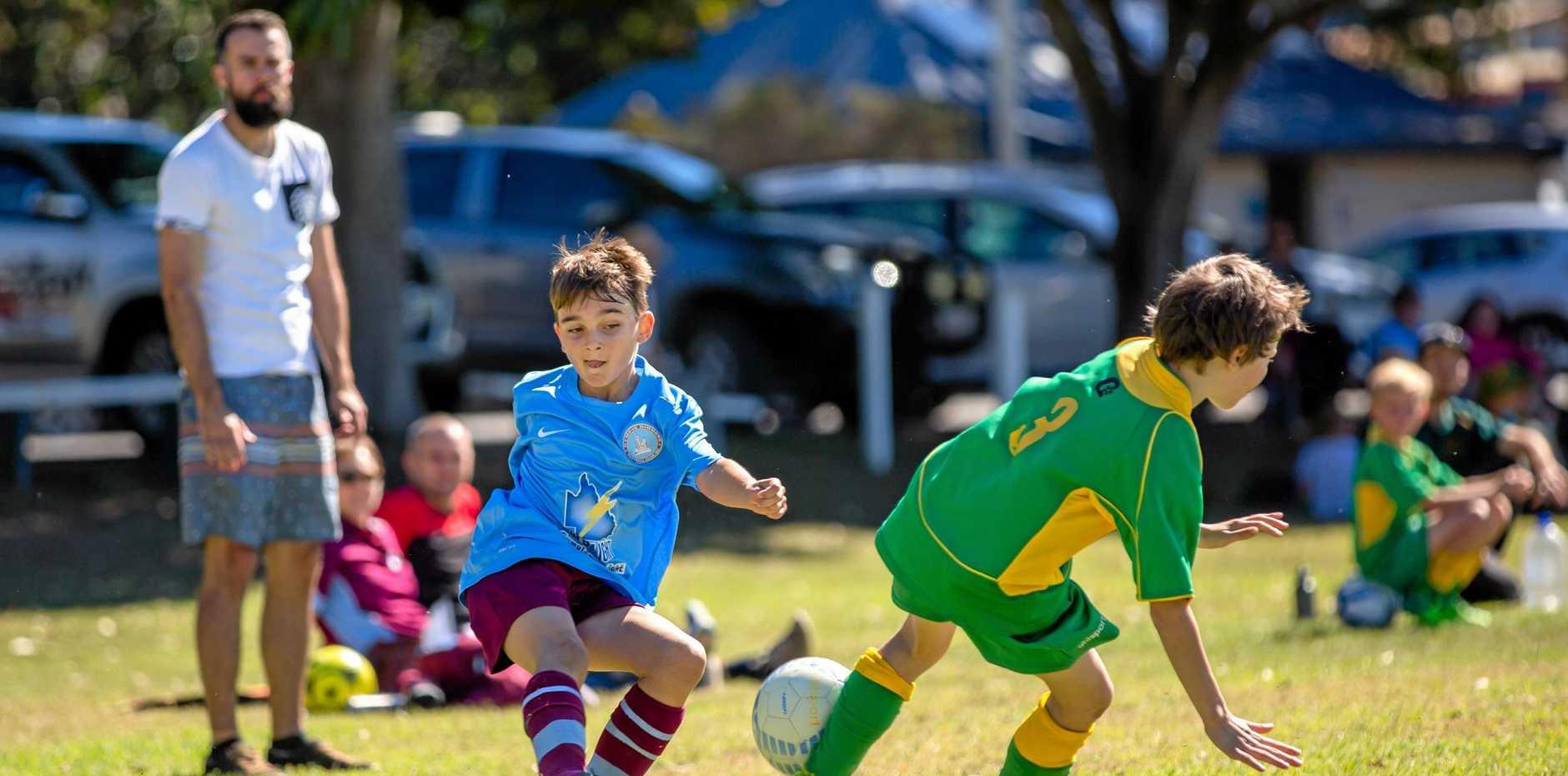 Soccer Juniors - Elias Feekings Diggers Blue vs Golden City