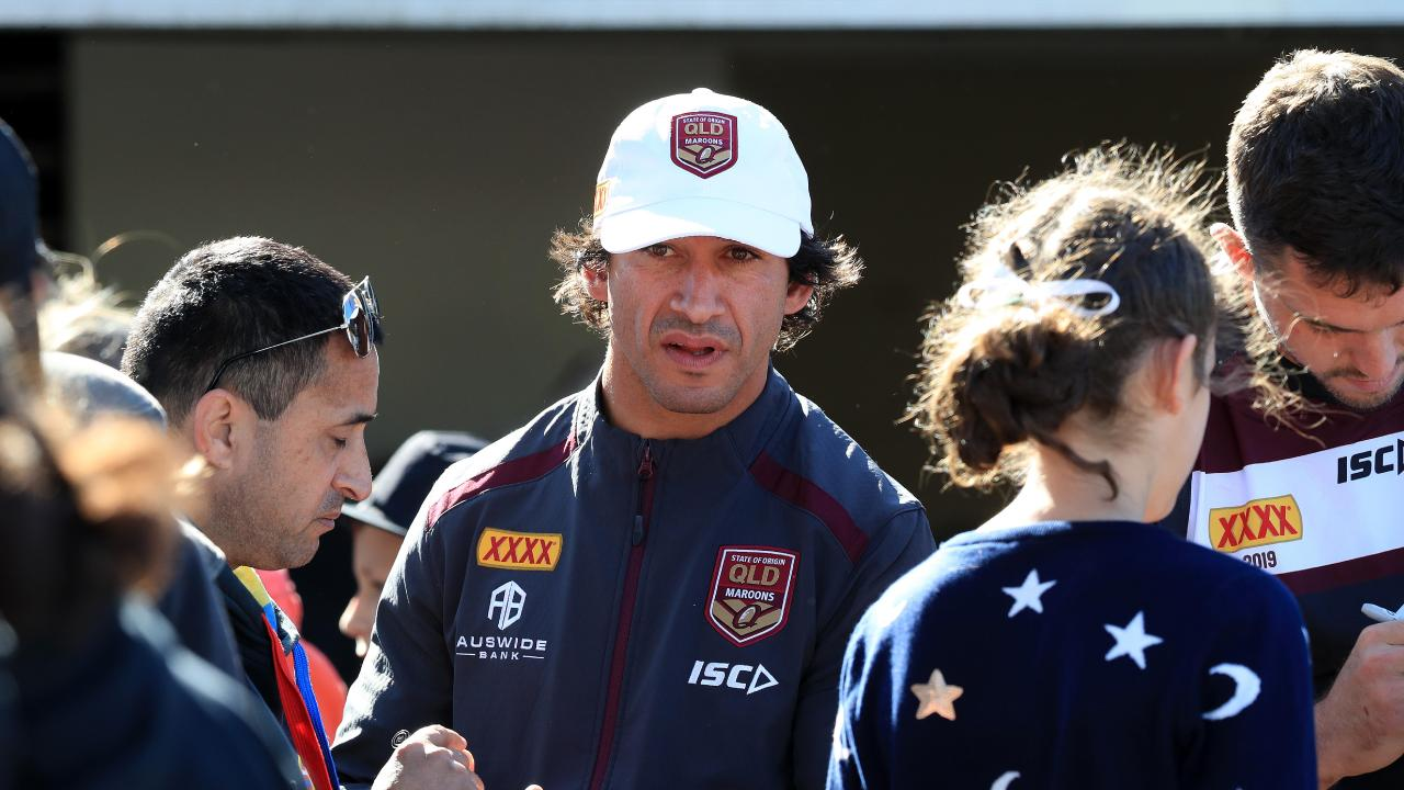 Thurston's experience will be invaluable for Queensland. Picture by Adam Head.