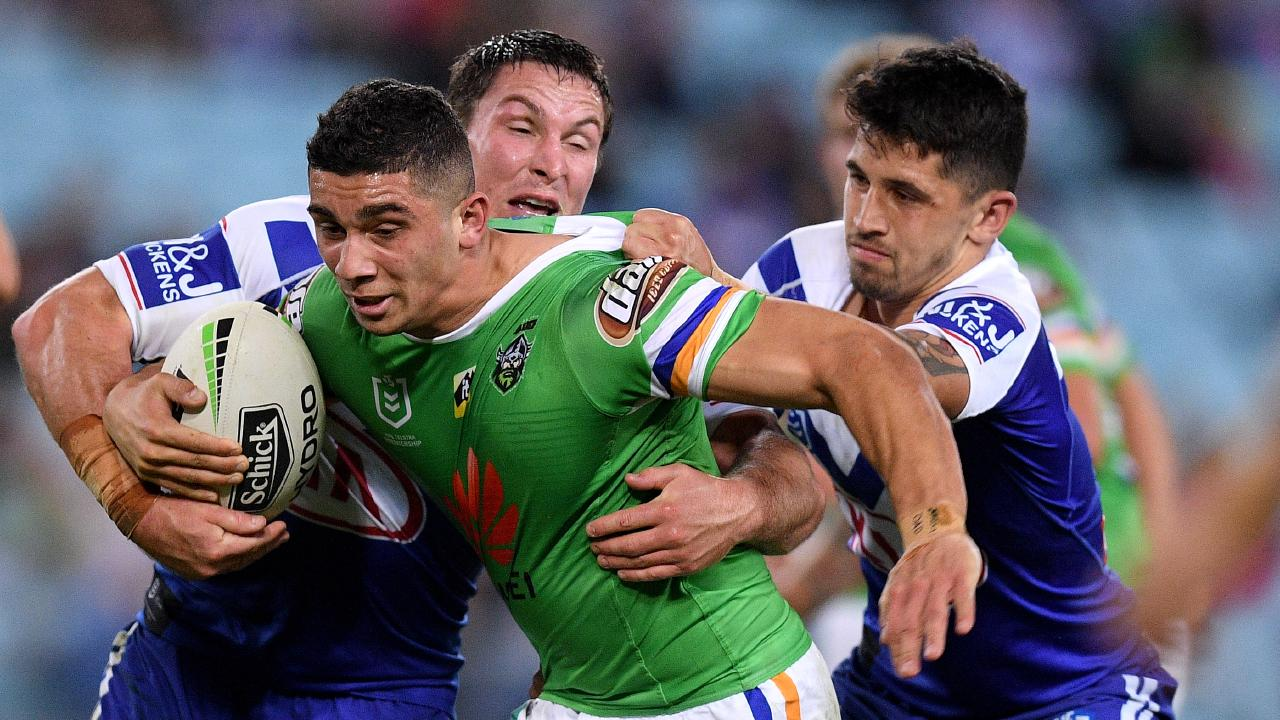 The Raiders had lost three in a row. AAP Image/Dan Himbrechts.