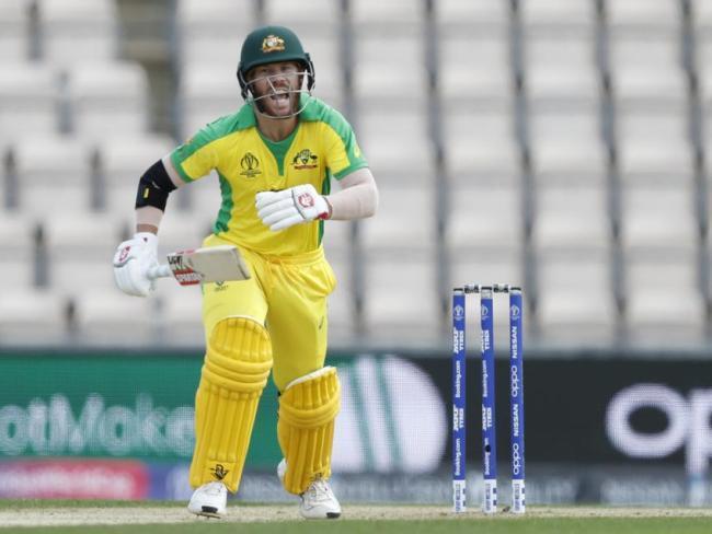 David Warner will open the batting for Australia against Afghanistan