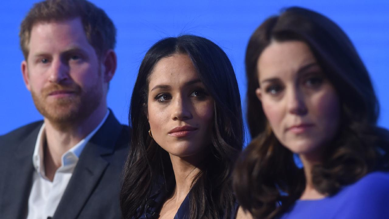 Public events with the Sussexes and Cambridges working together are set to become rarer. Picture: Eddie Mulholland — WPA Pool/Getty Images.