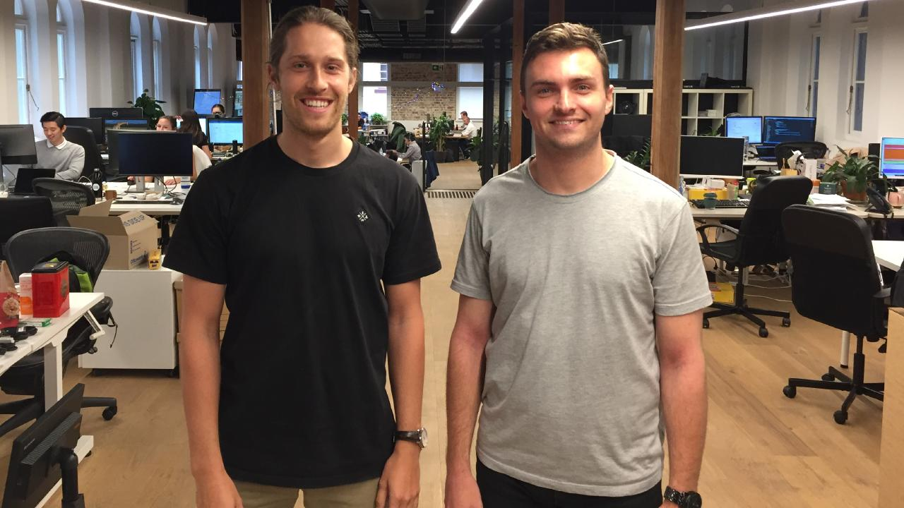 DiviPay founders Daniel Kniaz and Russell Martin.