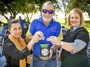 Rattling the tin helps RACQ Capricorn Rescue Helicopter