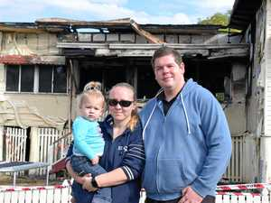 CQ family finding their feet after home destroyed by fire
