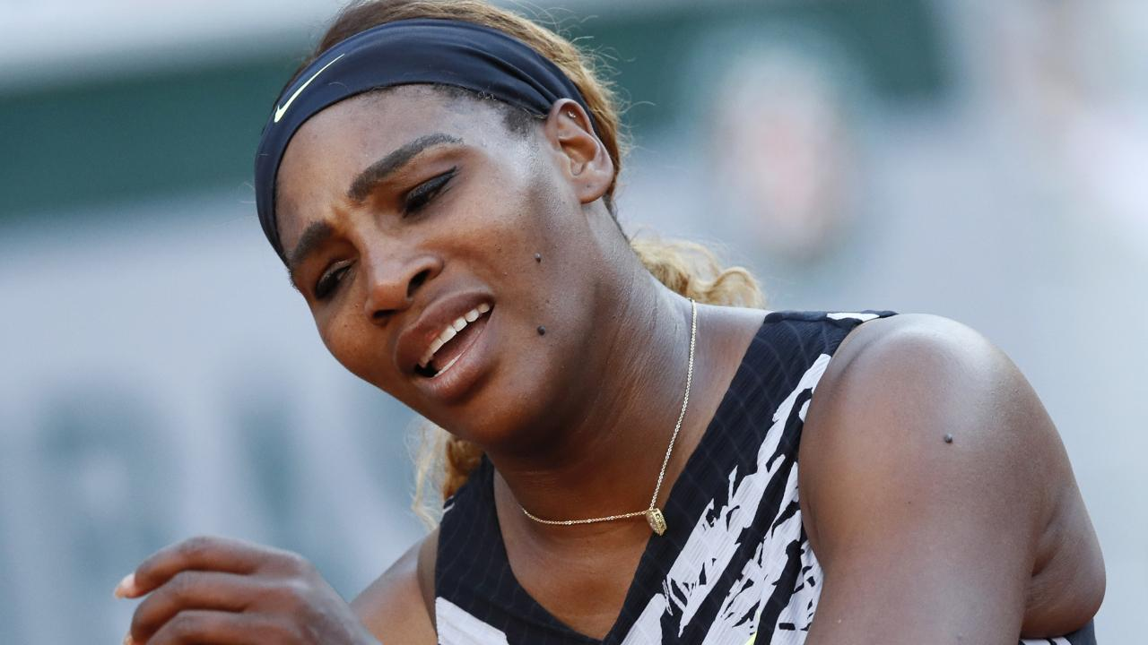 Serena Williams was sent packing from the French Open. Picture: AP Photo
