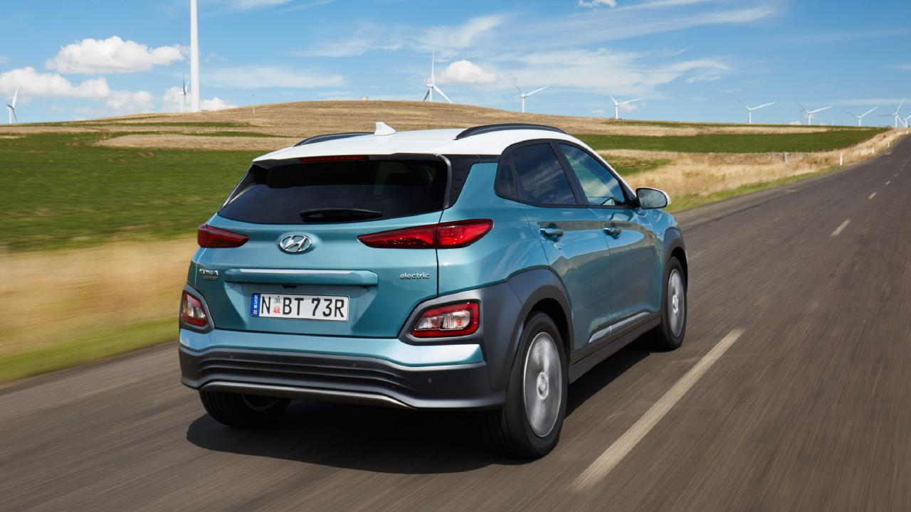 The Kona EV has a claimed range close to 500km.