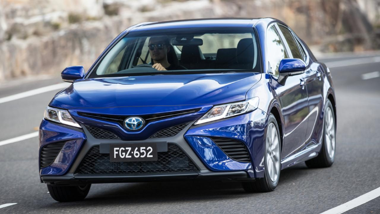 The Toyota Camry has been a family favourite for a long time. Picture: Supplied.