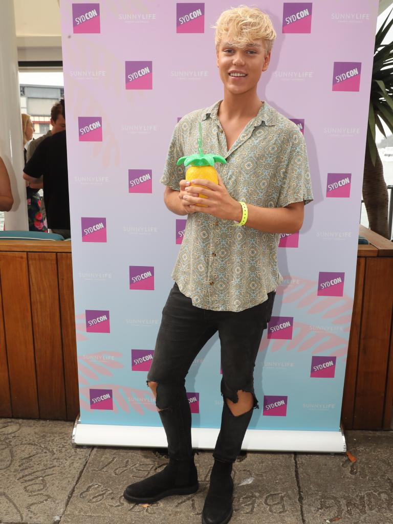 Jack Vidgen appeared at the Confidential Christmas Party in January.