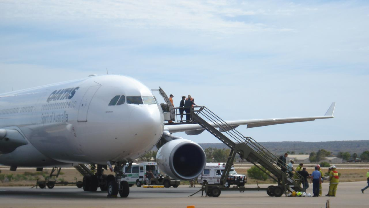 All passengers walked away from the Qantas flight that had an emergency landing in Learmonth WA.