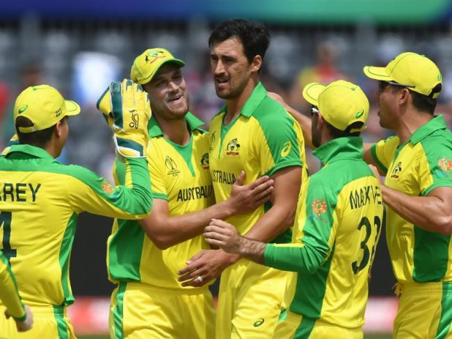 Mitchell Starc took a wicket inside his first over