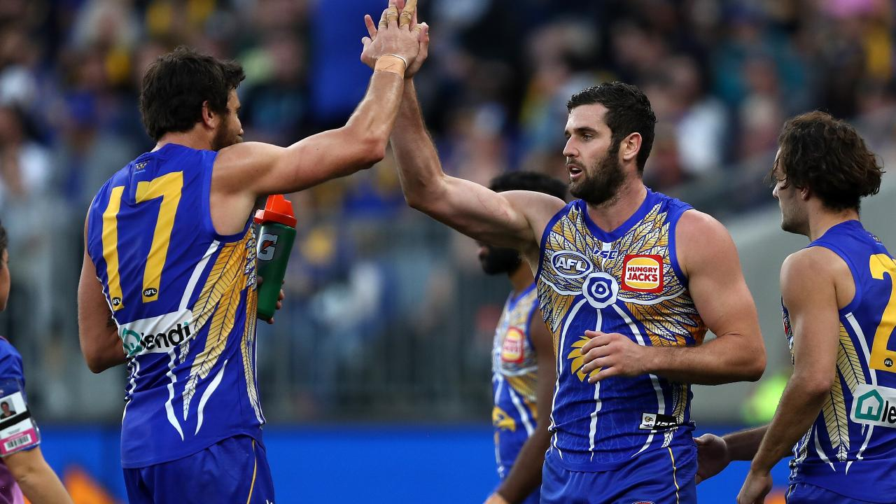 Jack Darling (right) had a day out. Pic: AAP