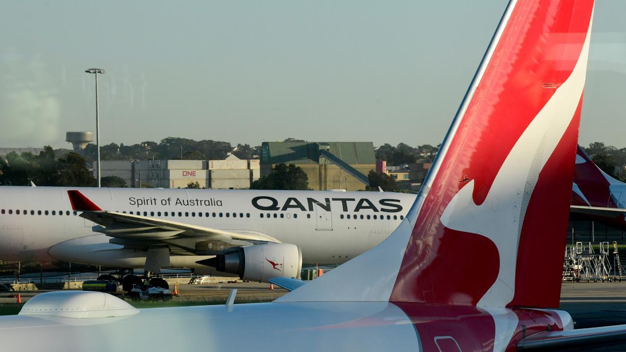 Terror on flight QF72. Picture: AAP Image/Bianca De Marchi.