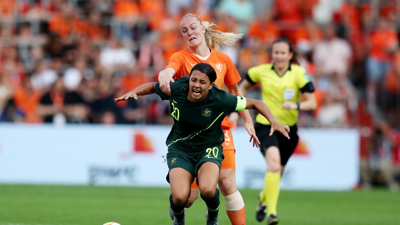 Netherlands Women v Australia Women - International Friendly 1153067338