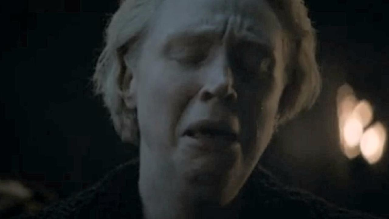 Brienne's tears divided fans. Picture: HBO