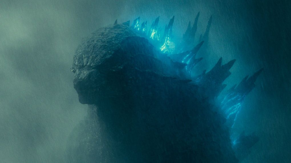 A scene from the movie Godzilla: King of the Monsters.