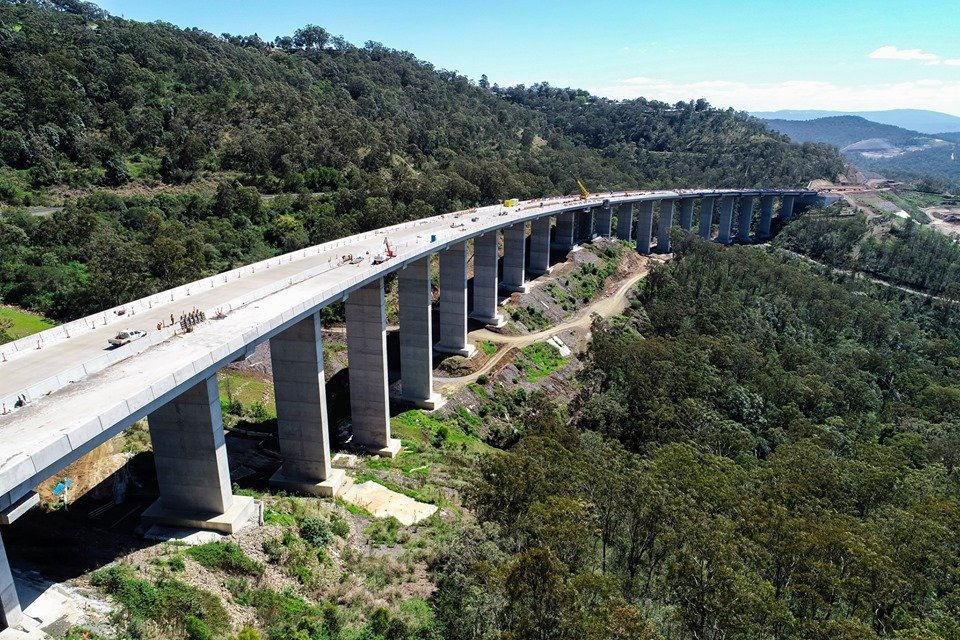 The Toowoomba Second Range Crossing project has been recognised nationally as one of the best construction projects.