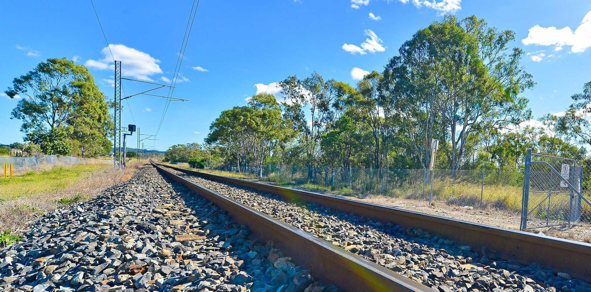 Inland railway.