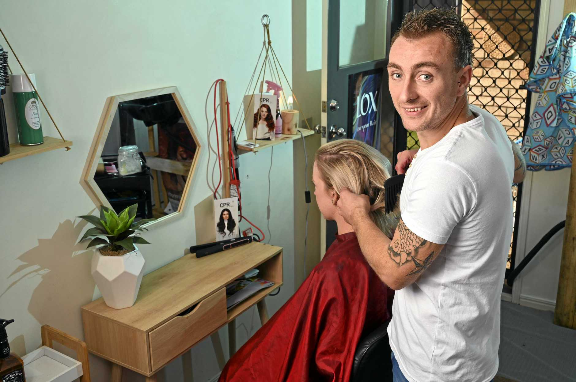 Benjamin Peters has been in the hairdressing biz for a decade now. He started off as a rockstar apprentice and he's continued to succeed by points of difference in marketing and customer service.