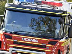 Southside woman hospitalised after blaze erupts in bedroom