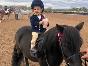 Cowgirl toddler crowned champion at Ridgelands Show