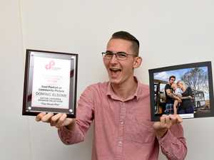Dominic's image takes top award