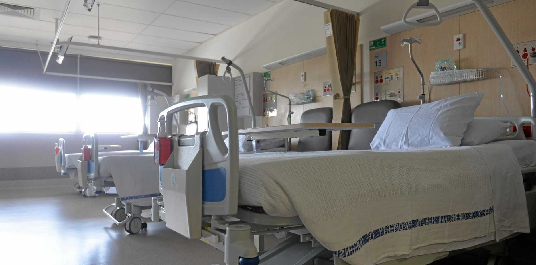 ACUTE MEDICAL WARD: The new beds in Bundaberg Hospital.