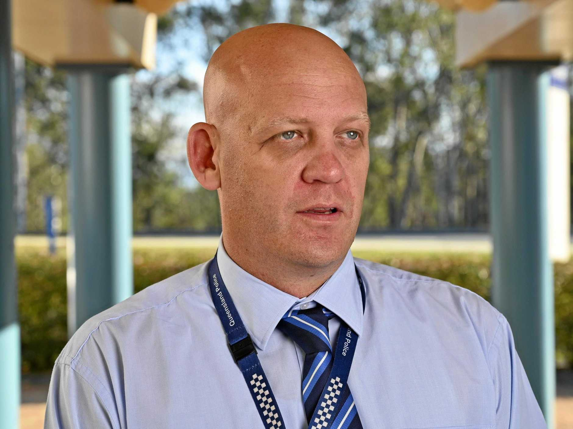 Detective Inspector David Briese of the Ipswich District Crime Services Unit.