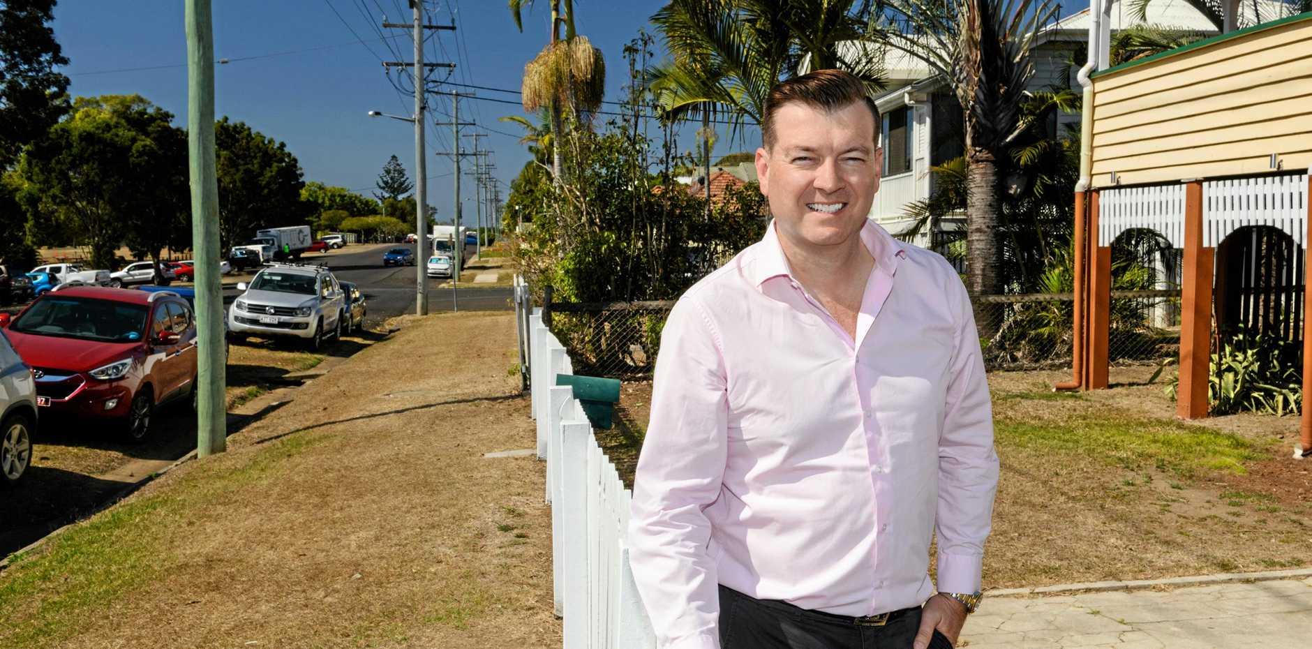 GO SOUTH: Remax Precision real estate principal Scott Mackey.