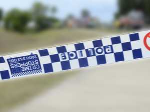 Car in 'dangerous position' after Bruxner Highway crash